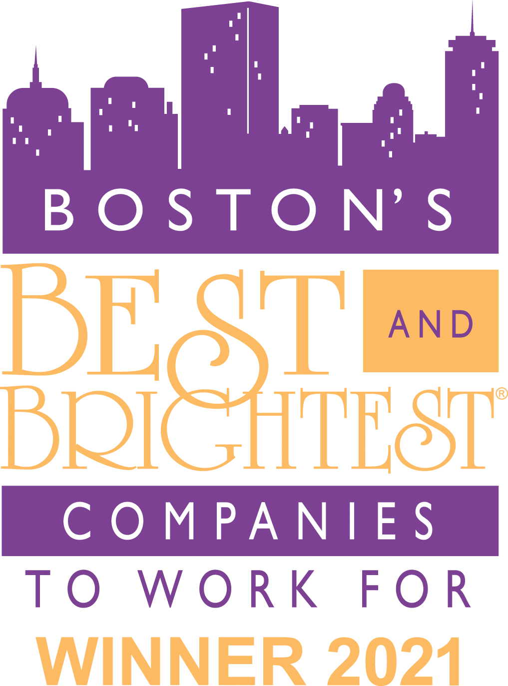 Boston's Best and Brightest 2021 Award