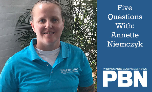 Five Questions with Annette Niemczyk