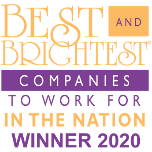 Best and Brightest Companies to Wort for in the Nation 2020