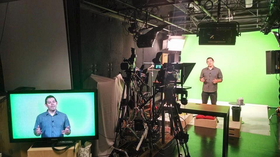 Jeremy on camera