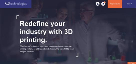 R&D Technologies' New Website